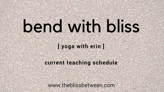 the bliss between yoga